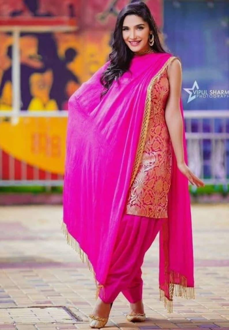 443a475039a Designer Indian Pakistani dress party wear dress Indian Lengha