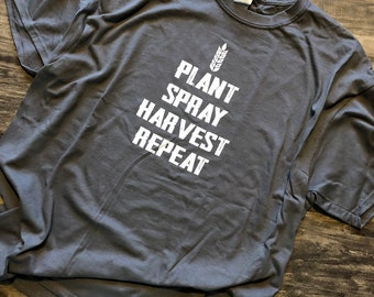 Plant Spray Harvest Repeat