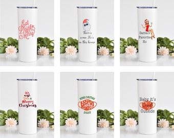 Christmas Tumblers/Go Mugs Choose Your Design