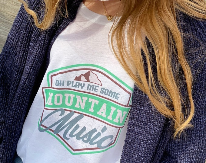 Featured listing image: Mountain Music tee