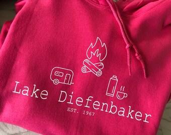 Lake Diefenbaker hoodie