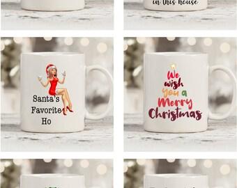 Christmas Mugs - Choose your Design