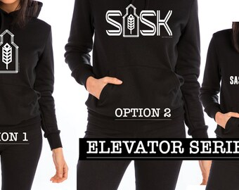 Saskatchewan Elevator Series Hoodie Unisex