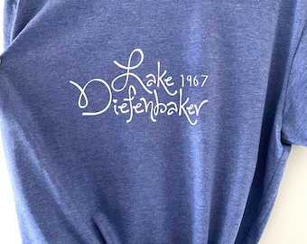 Lake Diefenbaker ladies T-shirt