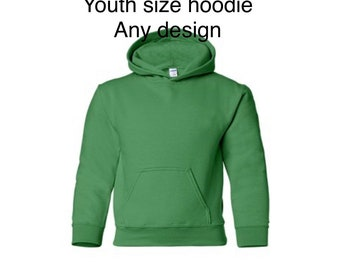Youth hoodie - any design