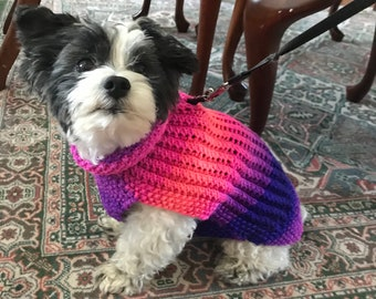 Large Dog Sweaters Etsy