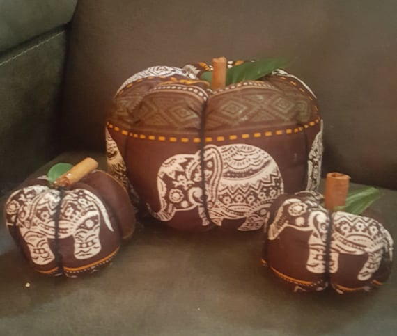 Elephant Pumpkins (set of 3)