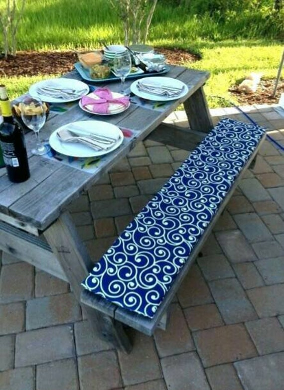 Pleasant Picnic Bench Cushions Andrewgaddart Wooden Chair Designs For Living Room Andrewgaddartcom