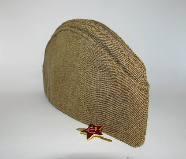 5c1b056a9 New Original Soviet military garrison cap Soviet Red Army for soldiers 58  large size Rarity 1991 Soviet Army Uniform
