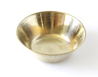 """Brass Bowl ~ Replacement for Tea Candle Burner ~ 2""""D"""