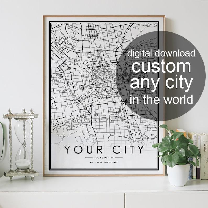 Mappa della città di BOLOGNA il download digitale in ...