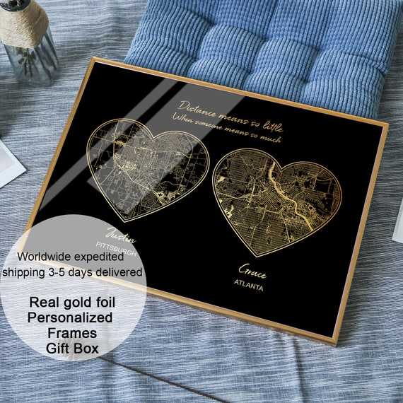 Long Distance Boyfriend Gift Long Distance Relationship Gifts Etsy