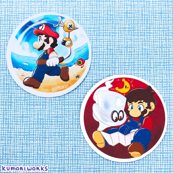 Super Mario Sticker Set