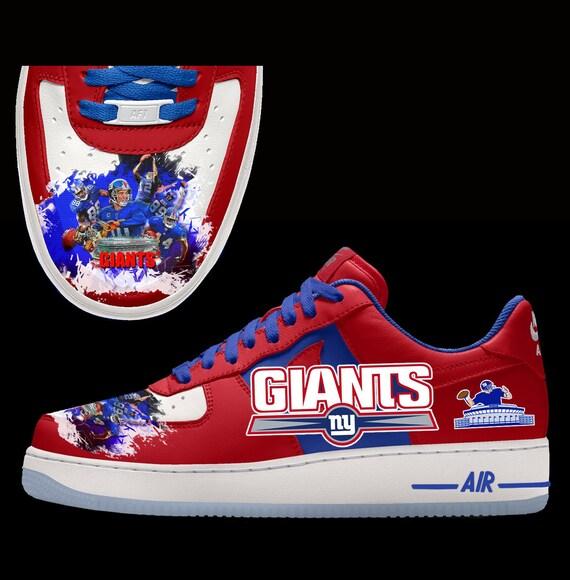 New York Giants Custom Nike Air Force 1