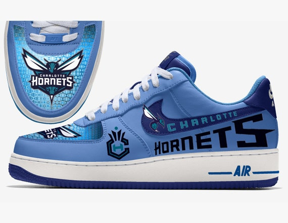 Charlotte Hornets Custom Nike Air Force