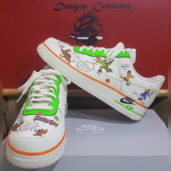 delicate colors buy popular differently Custom Scooby-Doo Nike Air Force 1's AF1 Low