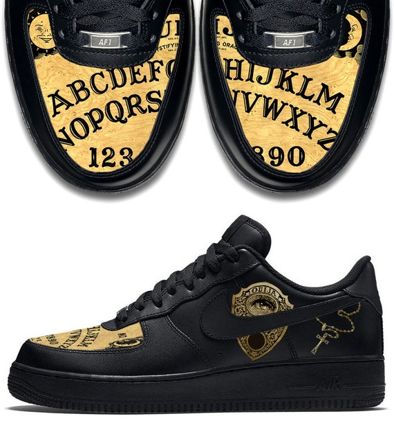 Custom Ouija Board Nike Air Force 1 AF1 Sneakers