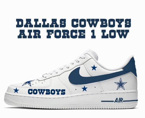 Dallas Cowboys Custom Nike Air Force 1