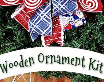 Kids DIY Christmas Ornament Kit- Easy Kids Holiday Crafts