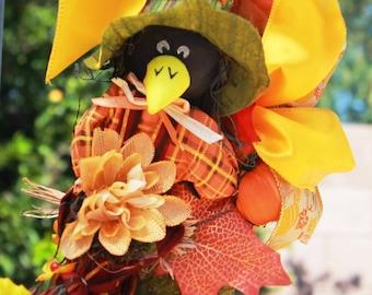 Raven Scarecrow