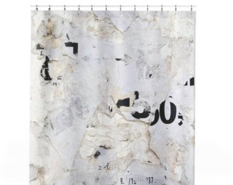 Old World Shower Curtains