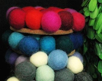 Artisan Felt Wool Coasters