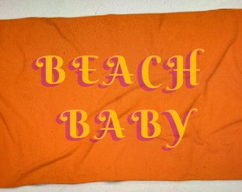 Beach Baby Beach Towel