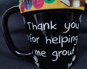 Teacher Appreciation Marker Mug