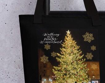 Italy Christmas Tree Tote bag