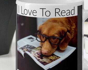 I Love To Read Mug