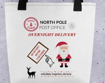 Christmas Delivery Tote bag