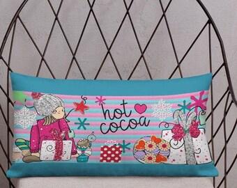 Gillter Girl Premium Pillow
