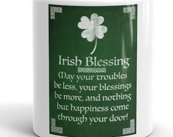 Irish Blessings Mug