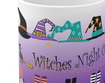 Halloween Girls Night Out Party Mug