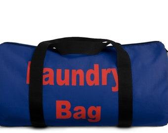 College Laundry Duffel Bag