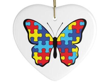 Autism Ceramic Ornaments