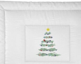 Christmas Tree Comforter