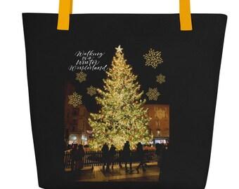 Italy Christmas Tree Bag