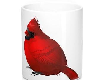 Red Cardinal Mug 11oz
