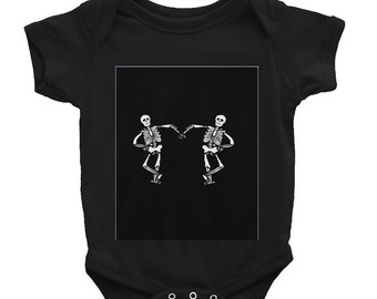 Skeleton Infant Bodysuit
