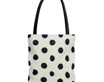 Polka Dot AOP Tote Bag