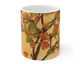 Leaf Mug Ceramic Mug