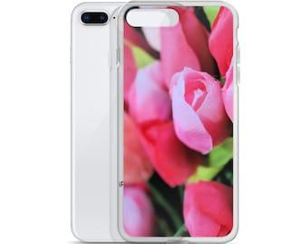 iPhone Case Tulip-iPhone Case Flower-iPhone Case-iPhone Case Pink-Phone Cases-Electronics Cases-Bags & Purses-Spring Tulips Design