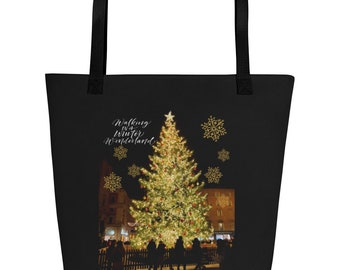 Italy Christmas Tree Tote bag