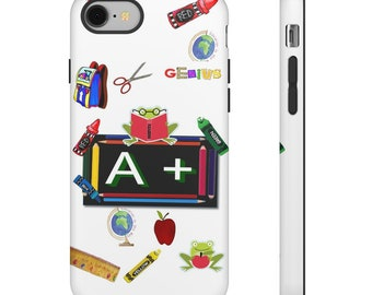 Teacher A+  Tough Phone Cases