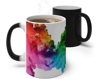 Color Ink Color Changing Mug