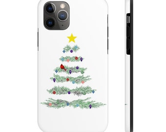 Christmas Tree Case Mate Tough Phone Cases