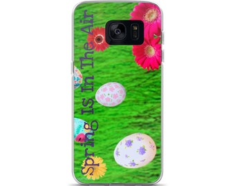 Spring Is In The Air Samsung Case(Purple)