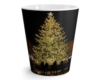 Italy Christmas Tree Latte mug