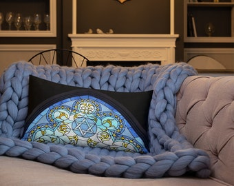 Hanukkah Decorative Premium Pillow